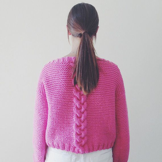 KNIT PATTERN Sweater VALENTINE English & French от MarcelleetClo