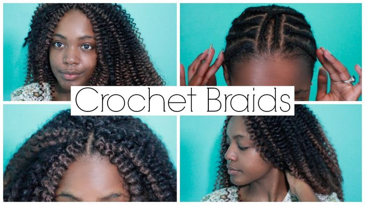 How To Do Natural Looking Crochet Braids With Invisible Part Easy 2015 ...