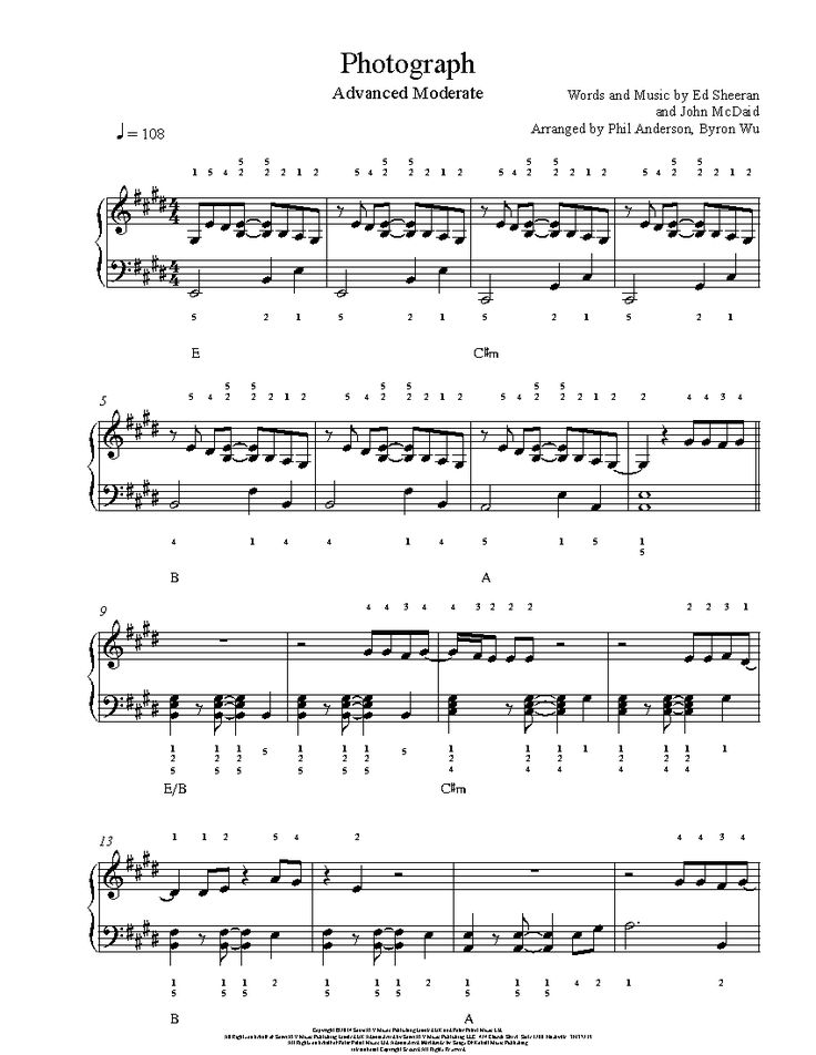 167 best images about Playground Advanced Sheet Music on Pinterest