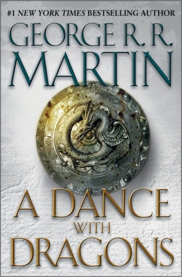 A Dance with Dragons George R. R. Martin.  Not far in yet, but taking my time because this is the last current installment of the series that has been released.