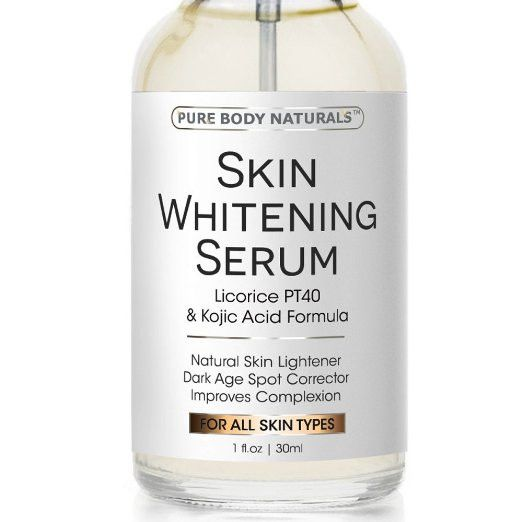 Skin Whitening Serum -Natural Skin Whitening Cream Treatment - Brighten Complexion, Lighten Dark Spots, Reduce Age Spots - Expert Formula Featuring Kojic Acid