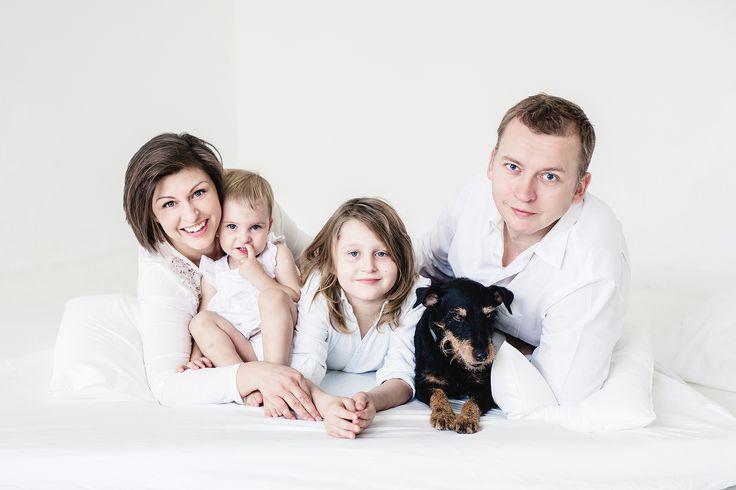 Kasia z rodziną | Family session » Fotografia rodzinna Zdjęcia dzieci Warszawa / Sylwia Szuder