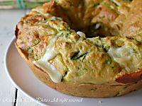 Ciambellone salato con salumi e formaggi ideale per la pasquetta o per una cena improvvisa o informale,facile e veloce