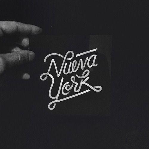Typeverything.com Nueva York by Raul Alejandro.