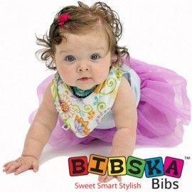 Bibska Bib - Smart Floral- Dribble Bib - Bandana Bib lovely lovely lovely