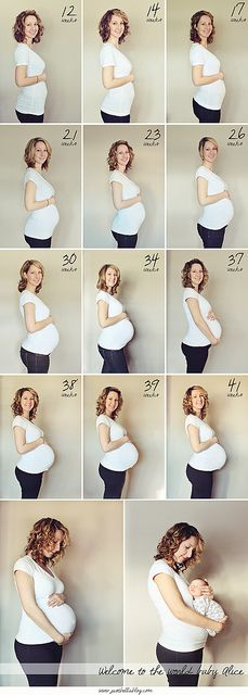 Pregnancy- take with big sister in each shot as well!!