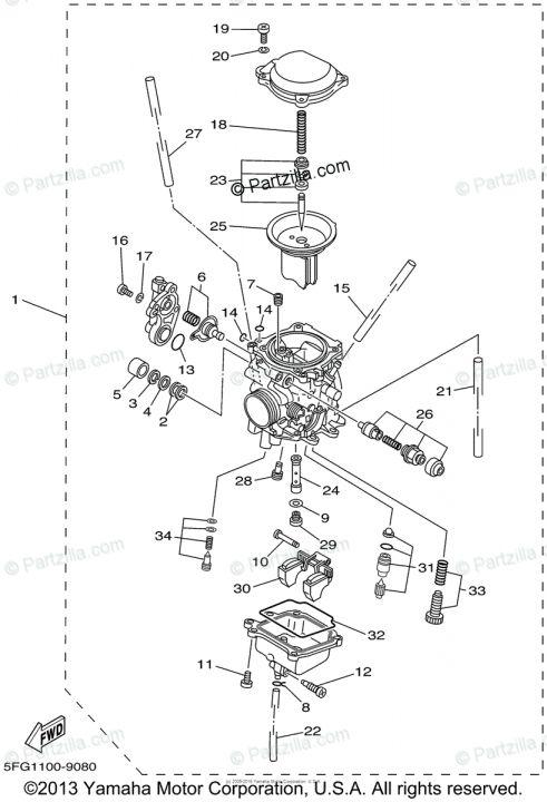 10 Yamaha Motorcycle Carburetor Diagram Autos Y Motos Autos Motos
