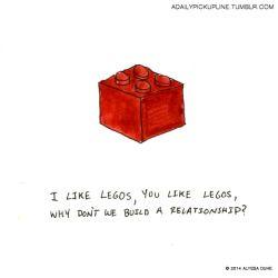 love drawing Illustration art funny cute lego watercolor pun doodle pick up lines pickupline
