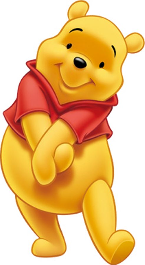 Winnie The Pooh on Adventure Camp Cliparts