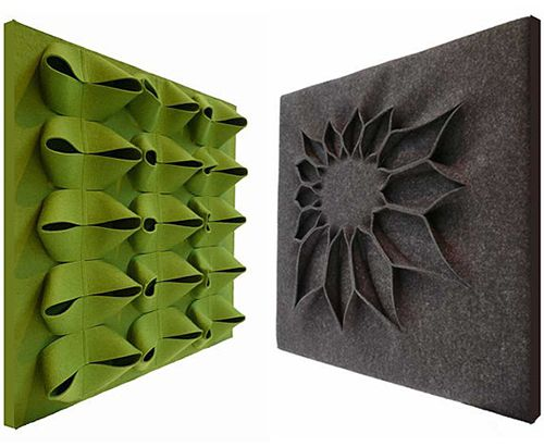 Wow.  Cool wall panels designed by Anne Kyyro Quinn