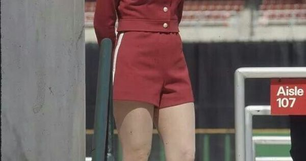 Phillies Hot Pants Patrol usher (early 70s)   the seventies   Pinterest   Hot Pants, Ushers and Pants