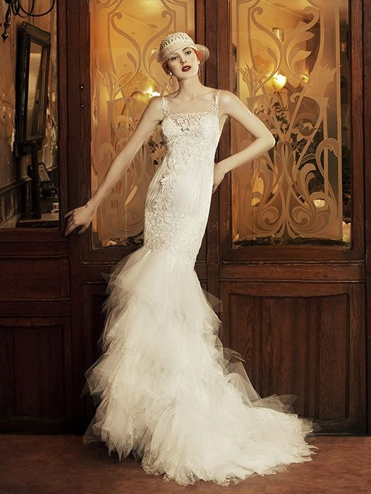 80 best images about great gatsby wedding style on pinterest for Period style wedding dresses