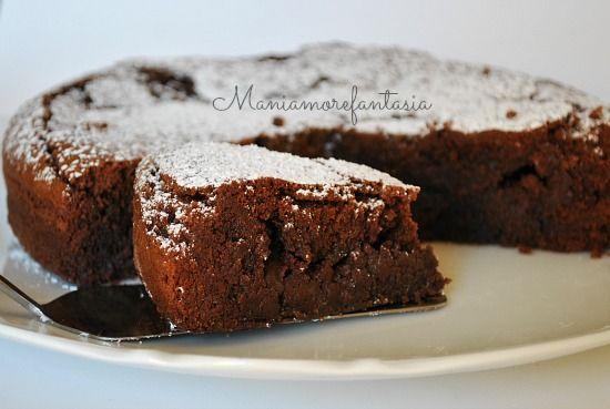 LA torta GNUGNU' è una torta carica di... affetto solo provando potrete sentirlo :D Cioccolattosa, compatta e umida, da provare assolutamente!