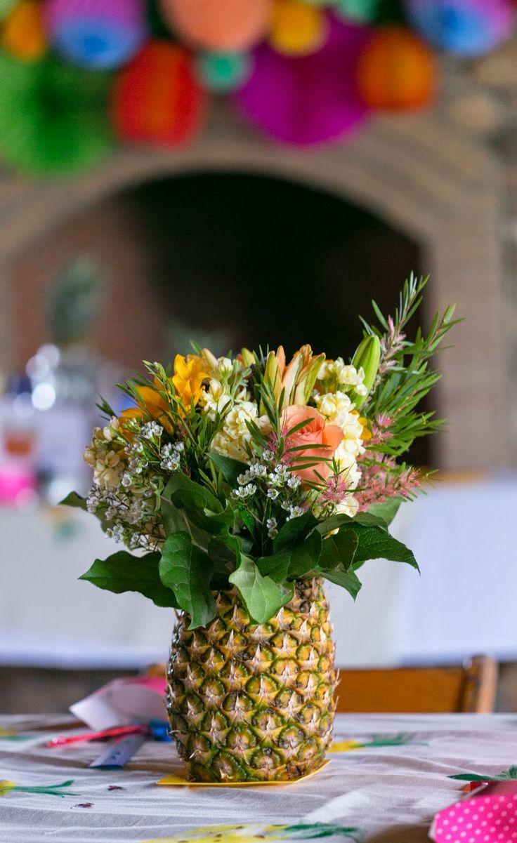 Flamingos & Pineapples Weaving Craft Party | Wedding ...