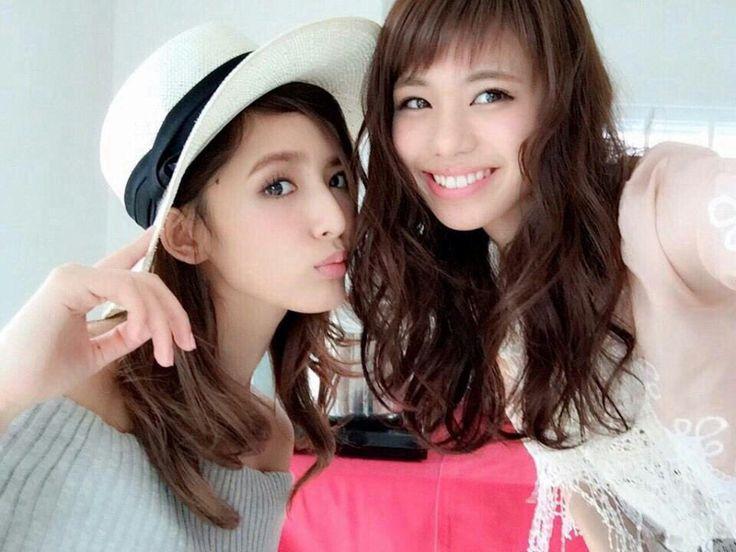 E-girls Flower 藤井萩花 佐藤晴美 Fuji Shuka Sato Harumi