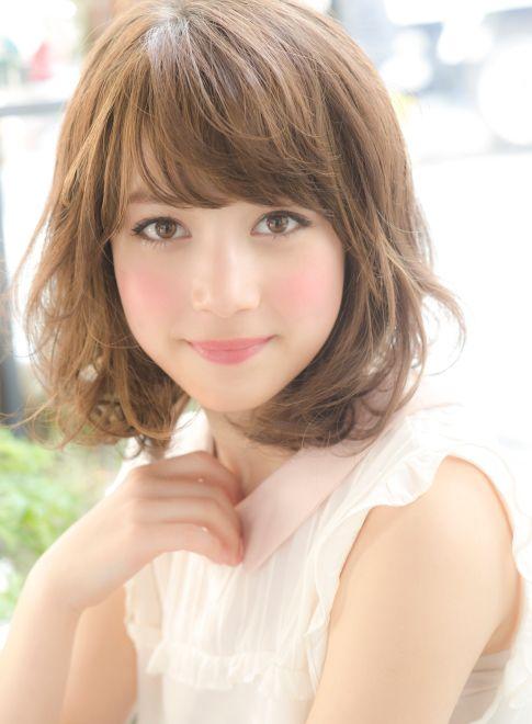 人気☆ふんわり可愛いミディアムカール 【NORA HAIR SALON】 http://beautynavi.woman.excite.co.jp/salon/22115?pint ≪ #mediumhair #mediumstyle #mediumhairstyle #hairstyle・ミディアム・ヘアスタイル・髪形・髪型≫