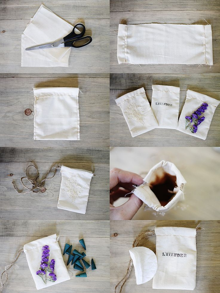 DIY Home Fresheners ~ Sincerely, Kinsey: Air Freshener Pouch DIY