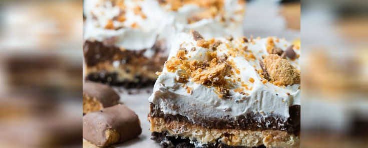 Cover Image - These Butterfinger, Peanut Butter, Chocolate Bars Will Change Your Brownie Game For The Better
