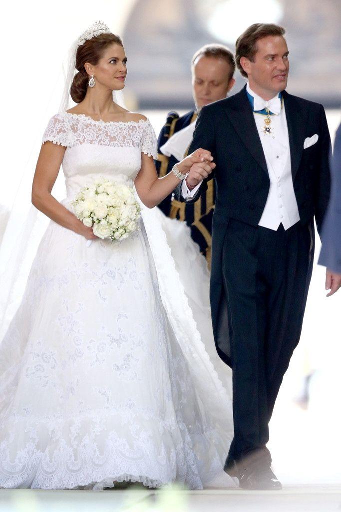 onemoreblogaboutroyals:  Wedding of Princess Madeleine and Chris O'Neil-June 8, 2013