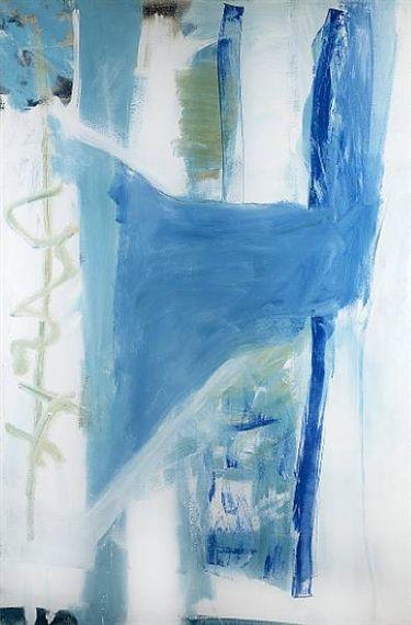 Peter Lanyon - Blue Round Corner