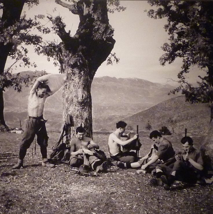 "From the photographic series ""The Resistance in Epirus,1941-1944,"" at the Benaki Museum, Photographer Kostas Balafas (Κώστας Μπαλάφας)"