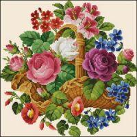 """Gallery.ru / Veera49 - Альбом """"Basket with flowers"""""""