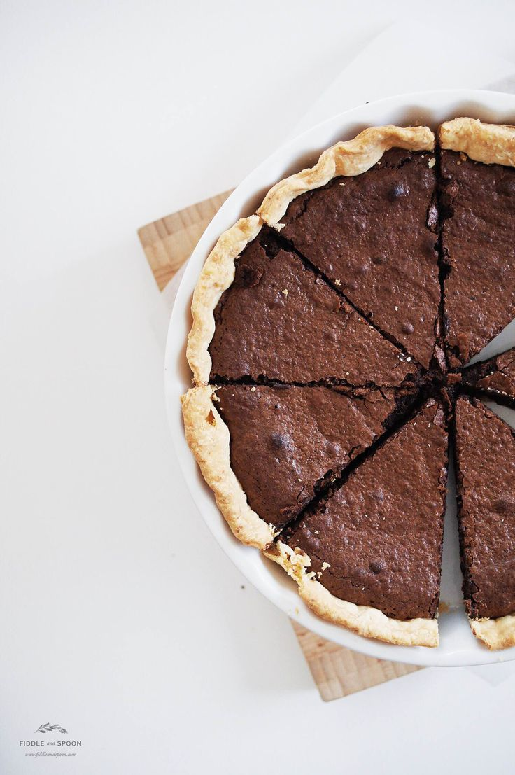 Chocolate Fudge Pie ♥