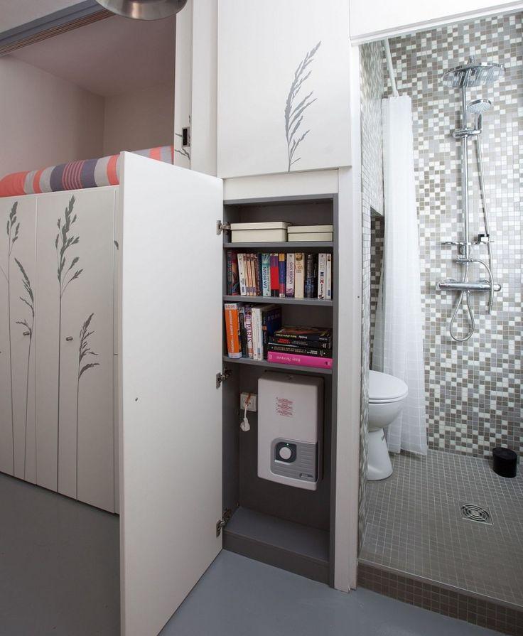 86-square-foot apartment in Paris #microliving