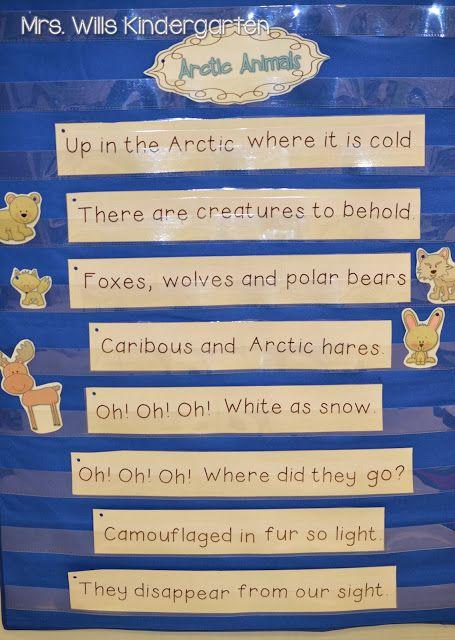 Mrs. Wills Kindergarten: Arctic Animals poem
