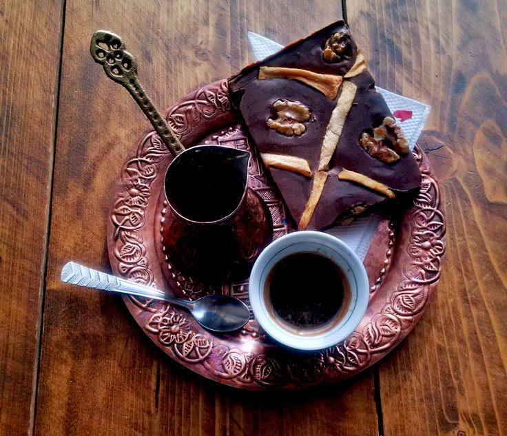 Always best friends: coffee + chocolate