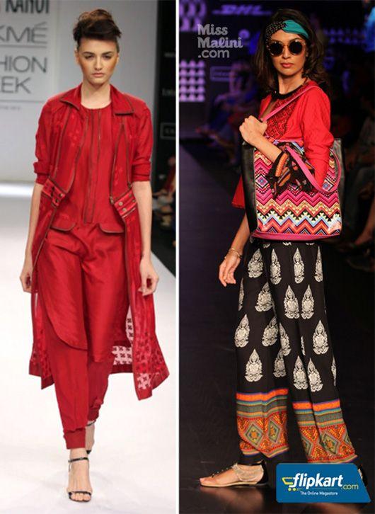 Fusion Fashion at Lakme Fashion Week #Desichic