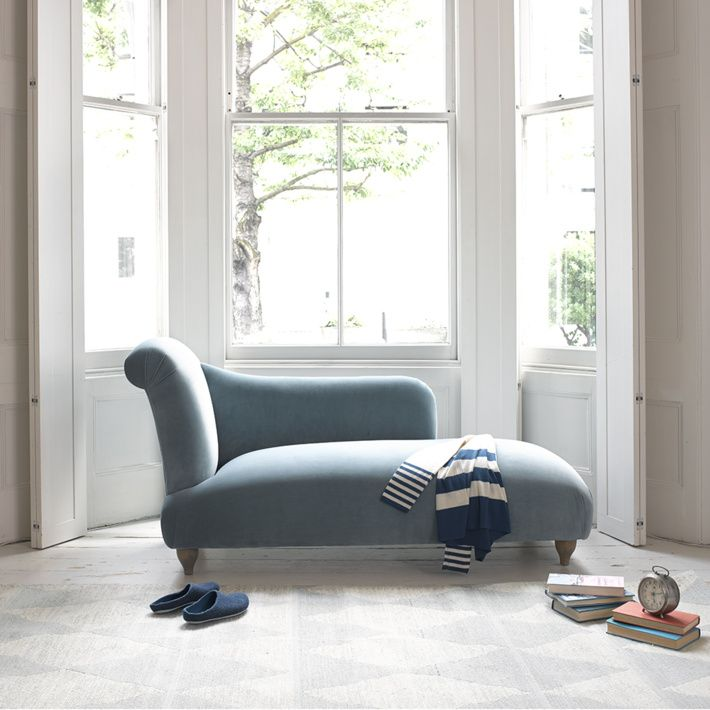 BRONTE CHAISE LONGUE When it comes to pieces of ridiculously beautiful yet utterly useless furniture, this chaise longue takes the cake. The best damn clothes horse you'll ever own.