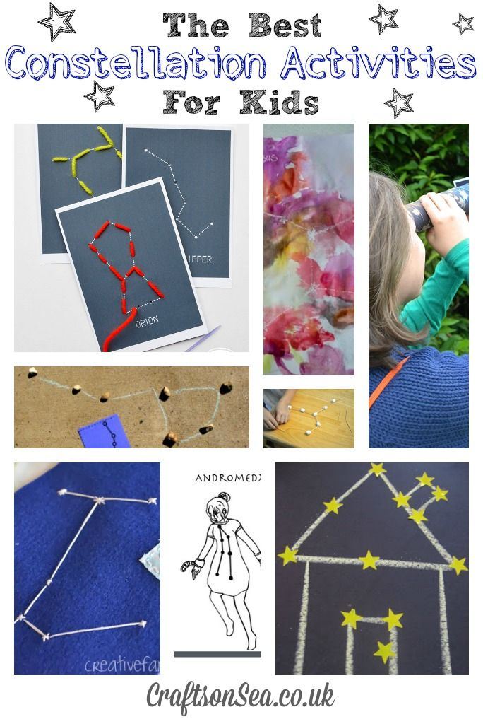 Kid Science: The Best Constellation Activities for Kids
