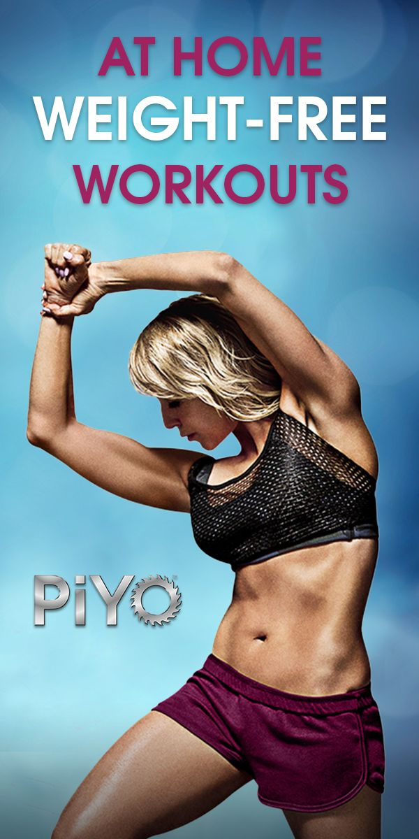 Yoga? Pilates? No, this is PiYO! Combine moves from Pilates, yoga and cardio to sculpt your body and define muscles – fast.