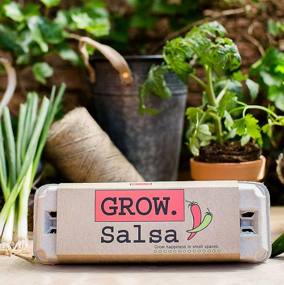 A kit so they can grow fresh salsa. | 37 Gifts For The Person Who Has Everything