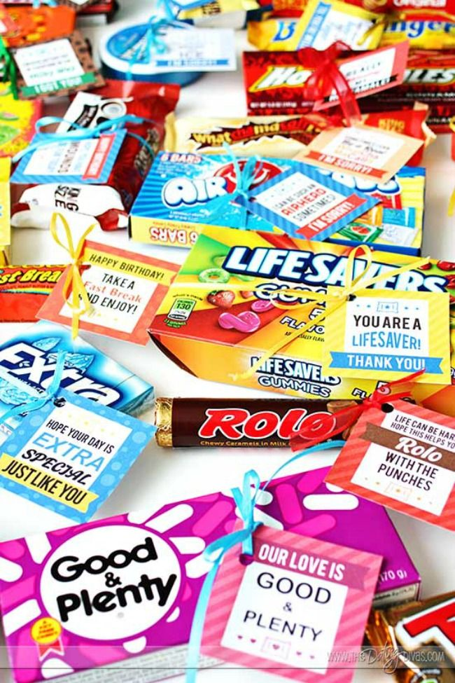 From printable candy grams to candy bouquets here are The 11 Best Candy Gram Ideas we could find!