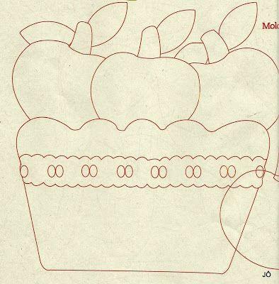 Florinda Artesanato: Molde Patchcolagem - Frutas e Legumes - Net