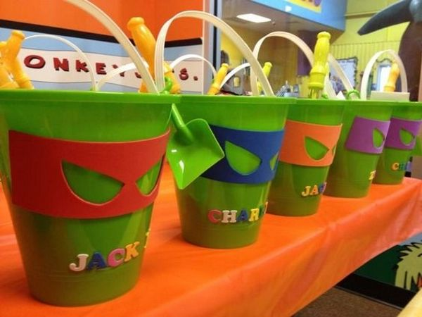 Teenage Mutant Ninja Turtles Party Giveaways, Treats and Favors teenage mutant ninja turtle party ideas