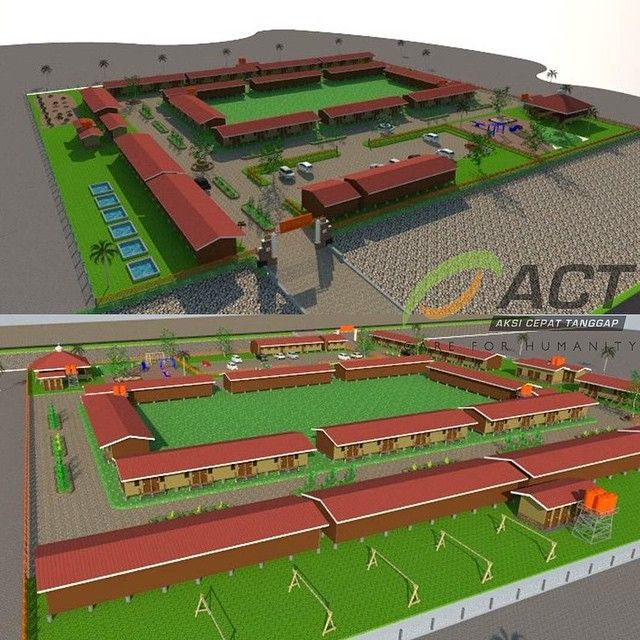 actforhumanityMaket 3 dimensi dari ICS Rohingya ACT di Gampong Blang Adoe, Kec. Kuta Makmur, Kab. Aceh Utara. salurkan kepedulian Anda melalui rekening: Bank Syariah Mandiri (BSM) 706 133 7417 atas nama (Yayasan) Aksi Cepat Tanggap.