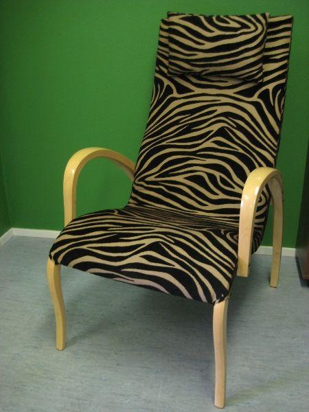 Harlekiini-tuoli muuttui villieläimeksi!
