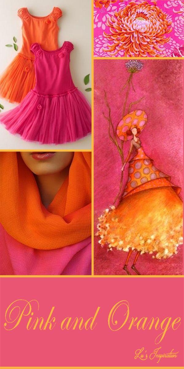 PINK AND ORANGE ~~