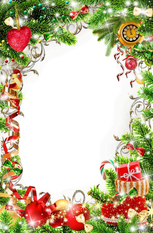 BANCO DE IMAGENES: 25 porta retratos navideños para poner tus fotos favoritas muy fácil