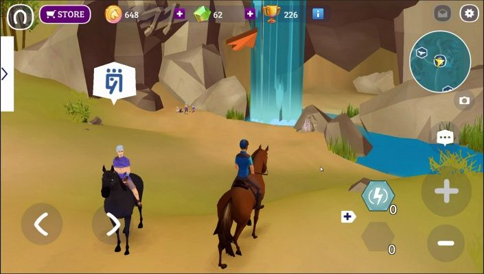 Horse Adventure Tale of Etria is a Free Android, Action, Horse Riding Adventure Multiplayer Game