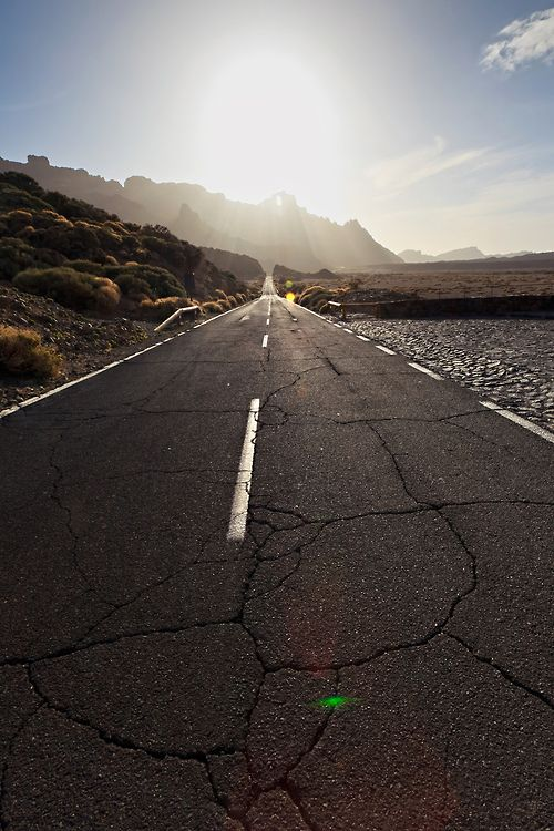 pedalarepedalare:  Road to Teide, Tenerife   Spain (by Alёna Romanenko)