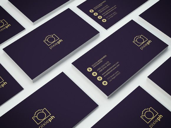 Premium Business Card Templates by MustaART on @creativework247