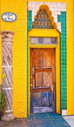 """"""" Mi Casa es su Casa"""" Door   ..rh"""