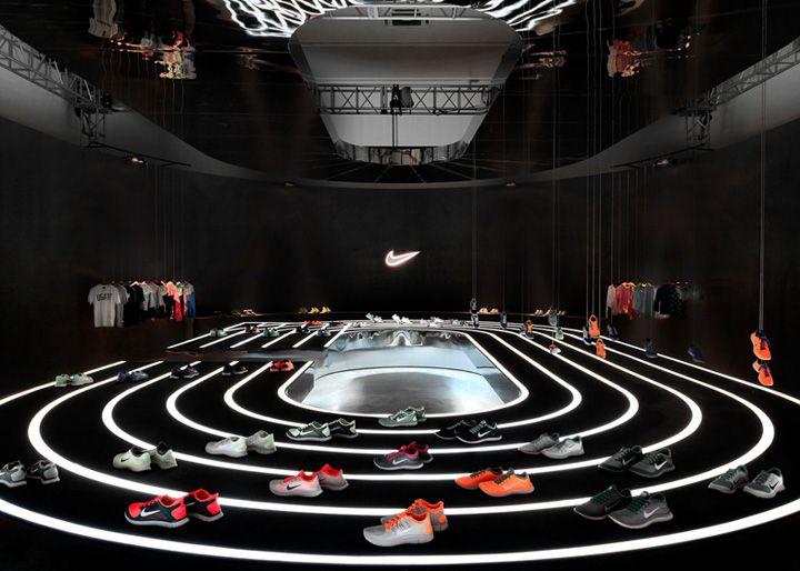 Nike Free 2013 installation Studio at Large Beijing