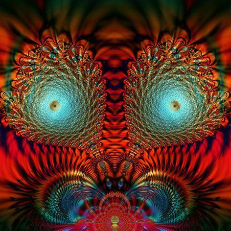The Eyes have ItMandarin Fractals, Abstract Artworks, Abstract Surrealism, Fascinators Fractals, Fractals Image, Fractals Art, Fractals Frivolity, Brilliant Fractals, Hidden Mandarin