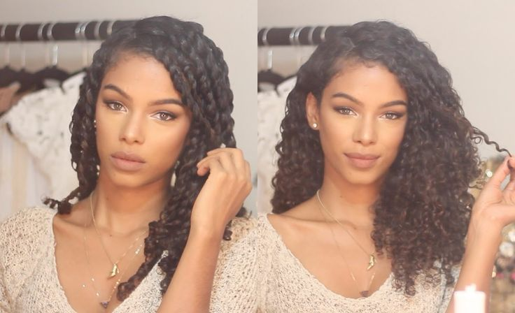 This tutorial features one of the top twist out on naturally curly hair. It showcases the best products to use whether you do your twist on dry or wet hair.