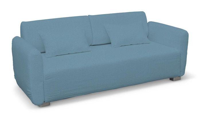 Mysinge 2-Sitzer Sofabezug, türkis aus der Kollektion Granada, Modell Sofabezug  Mysinge 2-Sitzer